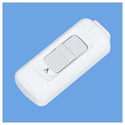 2号ペンダントスイッチ (平形コード用・ホワイト) WH5203WP