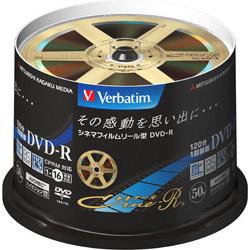 VHR12JC50SV1 録画用DVD-R(1-16倍速対応/50枚/CPRM対応/キネアールデザイン)