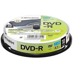 データ用DVD-R 4.7GB 10枚【スピンドル / インクジェットプリンタ対応】 DHR47JP10SD1-B 【ビックカメラグループオリジナル】