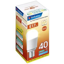 調光器非対応LED電球 「バーベイタム」(小形電球形・全光束440lm/電球色相当・口金E17) LDA4L-E17-G/V1B 【ビックカメラグループオリジナル】