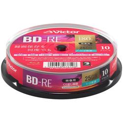 VERBATIMJAPAN 録画用BD-RE スピンドル 1-2倍速 25GB 10枚 VBE130NP10SJ1 [〜10枚]