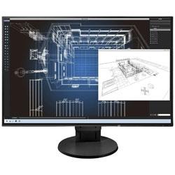 EIZO(ナナオ) FlexScan EV2456-RBK(ブラック) 24.1型LEDバックライト搭載液晶モニター[1920×1200/IPS/DisplayPort・DVI-D・HDMI・VGA]