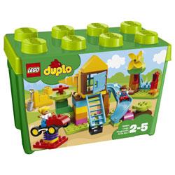 レゴジャパン LEGO(レゴ) 10864 デュプロ みどりのコンテナスーパーデラックス おおきなこうえん