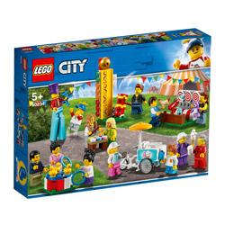 レゴジャパン LEGO 60234 シティ ミニフィグセット - 楽しいお祭り