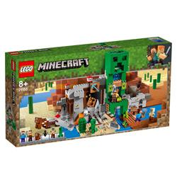 レゴ マインクラフト 21155 巨大クリーパー像の鉱山