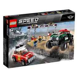 スピードチャンピオン 75894 1967 ミニクーパー S ラリー と 2018 ミニ・ジョン・クーパー・ワークス・バギー