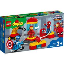 レゴジャパン 10921 デュプロ スーパーヒーローたちの研究所