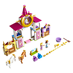 43195 ベルとラプンツェルの王国の厩舎
