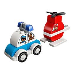 LEGO(レゴ) 10957 デュプロ はじめてのデュプロ 消防ヘリコプターとパトカー