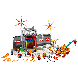 LEGO(レゴ) 80106 アジアンフェスティバル ニアンの伝説