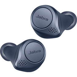 Jabra(ジャブラ) フルワイヤレスイヤホン Elite Active 75t ネイビー 100-99091000-40 [リモコン・マイク対応 /ワイヤレス(左右分離) /Bluetooth /ノイズキャンセリング対応]