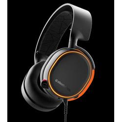 61504 ゲーミングヘッドセット Arctis 5 Black (2019 Edition) STEELSERIES ブラック [φ3.5mmミニプラグ+USB /両耳 /ヘッドバンドタイプ]