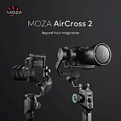 AirCross2 Professional Kit ハンドヘルドジンバル3軸スタビライザー フルサイズ一眼レフカメラ対応   ACGN03