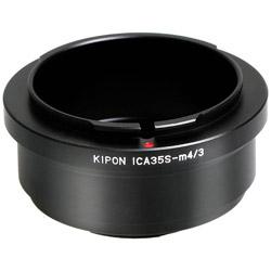 マウントアダプター ICA35S-M4/3【ボディ側:マイクロフォーサーズ/レンズ側:イカレックス35】