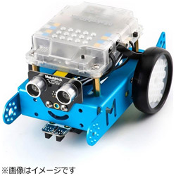 MAKEBLOCKJAPAN 〔ロボットキット:iOS/Android対応〕 mBot V1.1-Blue(Bluetooth Version) 99095