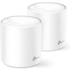 TPLINK Wi-Fi 6 + メッシュWi-Fiルーター Deco X20(2-pack) 1201+574Mbps  AX1800 [Wi-Fi 6(ax)/ac/n/a/g/b]
