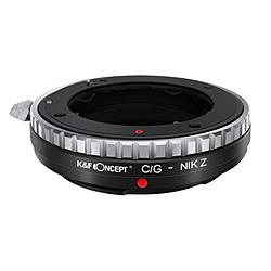 マウントアダプター(カメラ側:ニコンZマウント、レンズ側:コンタックスGマウント) KF-CGZ