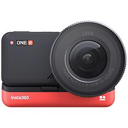 SHENZHENARASHIVISION レンズ交換対応アクションカメラ [Insta360 ONE R 1インチ版] 1インチ広角モジュール   CINAKGP/B [4K対応 /防水]