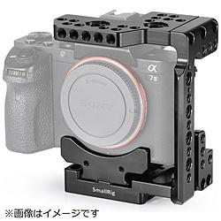 SmallRig Sony A7R III/A7 III/A7 II/A7R II/A7S II用 QRハーフケージ(アルカスイス互換)2238 SR2238