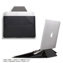 MOFT ノートパソコン対応[13.3インチ] Carry Sleeve スタンドにもなるキャリングケース  ナイト・ブラック MB002-1-13B-BK
