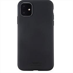 iPhone 11 6.1インチ モデル ソフトタッチシリコーンケース 14305 Black