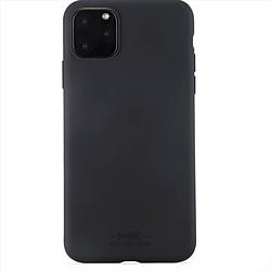 iPhone 11 Pro Max 6.5インチ モデル ソフトタッチシリコーンケース 14306 Black