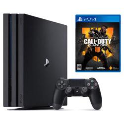 ソニー・インタラクティブエンタテインメント 【期間限定キャンペーン】 「PlayStation4 Pro ジェット・ブラック」 + 「CALL OF DUTY BLACK OPS 4」同時購入セット