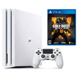 ソニー・インタラクティブエンタテインメント 【期間限定キャンペーン】 「PlayStation4 Pro グレイシャー・ホワイト」 +「CALL OF DUTY BLACK OPS 4」同時購入セット
