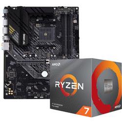 Ryzen 7 3800X BOX品 + TUF GAMING B550-PLUS セット