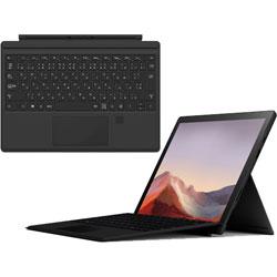【Surfaceフェア】 Surface Pro7 i5/8/256 Black + Surface Pro TypeCover FingerprintID