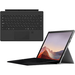 【Surfaceフェア】 Surface Pro7 i3/4/128 Platinum + Surface Pro TypeCover FingerprintID