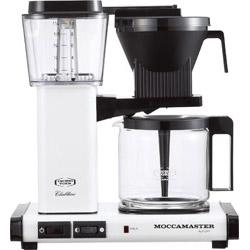 モカマスター コーヒーメーカー メタリックホワイト MM741AO-MW