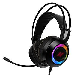 ABKO CH60 ゲーミングヘッドセット   [USB /両耳 /ヘッドバンドタイプ]