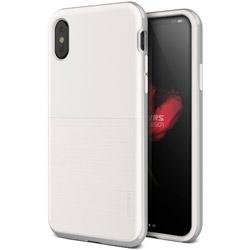 iPhone X用 VRS DESIGN High Pro Shield-S(ハイプロシールド-S) MIL VR_I8NCSDLH2_CW ホワイト&シルバー