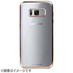 Galaxy Note8用 シェル型ケース Metalico Flex Collection Champagne・ゴールド VIVA MADRID GN8BC-MFXGLD