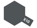 タミヤカラー エナメル X-10 ガンメタル (光沢)