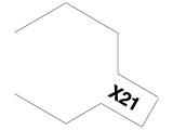 タミヤカラー エナメル X-21 フラットベース (光沢)