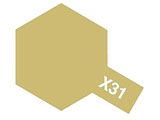 タミヤカラー エナメル X-31 チタンゴールド (光沢)