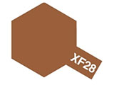 タミヤカラー エナメル XF-28 ダークコッパー (つや消し)