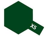 タミヤカラー アクリルミニ X-5 グリーン (光沢)