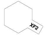 タミヤカラー アクリルミニ XF-2 フラットホワイト (つや消し)