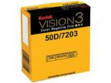カラーネガ VISION3 50D スーパー8 ムービーフィルム 7203 50フィート