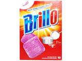 【在庫限り】 【Brillo(ブリロ)】ソープパッド オリジナル 10個入〔たわし・スポンジ〕