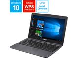 モバイルノートPC E203MA-4000G スターグレー [Win10 Home・Celeron・11.6インチ・eMMC 64GB・メモリ 4GB]
