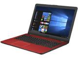 ノートPC VivoBook 15 X542UA-8130R レッド [Win10 Home・Core i3・15.6インチ・SSD128GB+HDD1TB・メモリ 4GB]