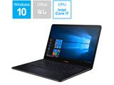 ノートPC ZenBook Pro UX550GD-BO028T ディープダイブブルー [Win10 Home・Core i7・15.6インチ・SSD 256GB・メモリ 8GB・GTX 1050]