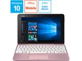 モバイルノートPC TransBook T101HA-64PGZP ピンクゴールド [Win10 Home・Atom x5-Z8350・10.1インチ・Office Mobile付き]