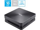 VC65-C1G5097ZN デスクトップパソコン VivoMini アイアングレー [モニター無し /HDD:1TB /メモリ:8GB /2019年7月モデル]