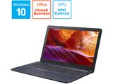ノートPC R543MA-GQ793TS スターグレー [Celeron /15.6インチ /Office付き /SSD:256GB /メモリ:4GB]