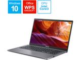 X545FA-BQ138T ノートパソコン スレートグレー [15.6型 /intel Core i3 /SSD:512GB /メモリ:8GB /2020年2月モデル]